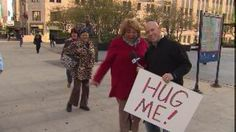VIDEO: National Hug An Anchor Day: Paul gives hugs and Wink gets a spank