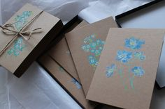 Clare Therese hand-painted gift cards