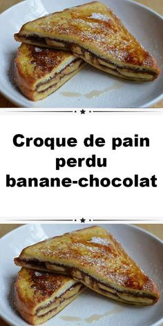 bananechocolat croque perdu pain de Croque de pain perdu bananechocolat Croque de pain perdu bananechocolatYou can find How to make french toast and more on our website Kids Cooking Recipes Easy, Healthy Bread Recipes, Zucchini Bread Recipes, Kid Cooking, Easy Recipes, Crockpot French Toast, Chocolate French Toast, Savoury French Toast, Food Inspiration