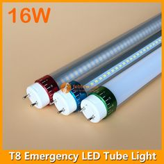 16Watt LED T8 Emergency Lighting