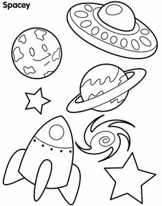 Outer Space Coloring Pages Best Of Free Printable Coloring Pages for Kids Space Free Printable Coloring Pages, Coloring For Kids, Coloring Pages For Kids, Coloring Books, Preschool Coloring Pages, Planet Coloring Pages, Shape Coloring Pages, Solar System Coloring Pages, Space Preschool
