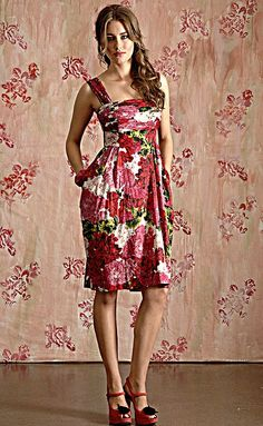 Red Roses Summer Dress by Trelise Cooper - love it!