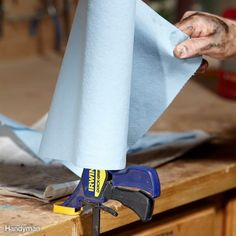 Workshop Tips and Helpers | The Family Handyman | Make your shop more efficient with these handyman tips and hacks 10/13