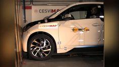 Crash Test Delantero BMW I3 REX - Vehículo eléctrico  en CESVIMAP