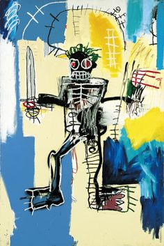Jean-Michel Basquiat's painting fetched many millions at auction