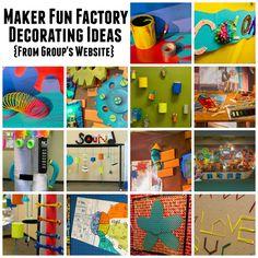 Group Publishing VBS 2017 - Maker Fun Factory - Decorating Ideas - BorrowedBlessings.net - Borrowed Blessings