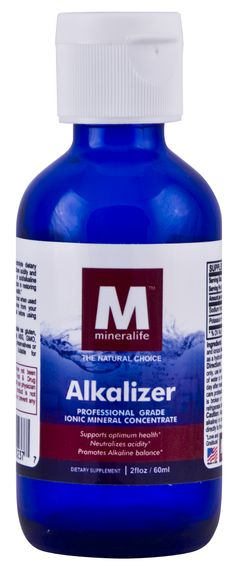 Alkalizer Drops: Decrease bloating and water retention* Promote healthy skin* Rid the body of harmful toxins* Promote healthy hair and nails* Aid in maintaining healthy weight* Support joints so they are healthy and pain free* Improve mood* Improve digestion* Boost immune function* Energize life*