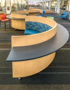 AGATI Furniture - Installations - South Puget Sound Community College - Thanks to my guyMatt Arnold for this one.  Turned out great.