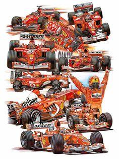Michael Schumacher 2000-2004