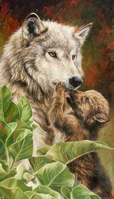 волки - Схемы вышивки - Наталия117 - Авторы - Портал «Вышивка крестом»