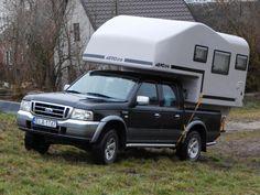 Aero one pickup camper, wohnkabine, demountable camper Pickup Camper, Pick Up, Recreational Vehicles, Car, Automobile, Camper, Autos, Cars, Campers