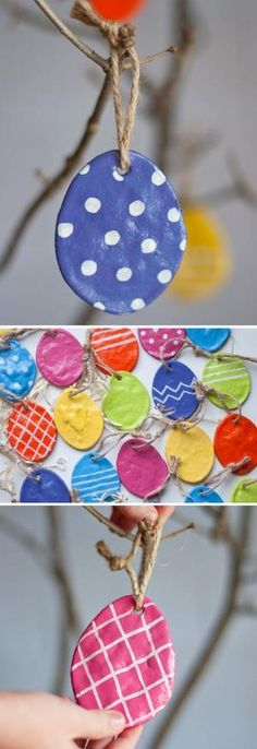 DIY: Salt Dough Eggs by diane.smith