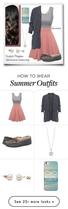 """*Untitled Japan Story* Outfit #9"" by lola-twfanmily on Polyvore featuring WearAll, Minnetonka and Casetify"