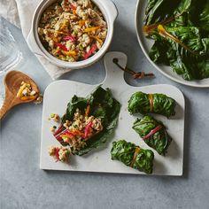 Rainbow Chard Chicken Wraps | Recipes | MyFitnessPal Chicken Wrap Recipes, Chicken Wraps, Healthy Foods, Healthy Recipes, Rainbow Chard, Lettuce, Food Ideas, Singing, Good Food