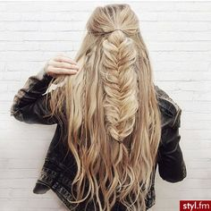 Immagine di girl, hair, and fashion