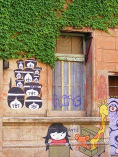 Graffiti @ Palermo Soho,Buenos Aires, Argentina