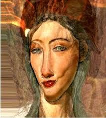 Not sure if this is actually Modigliani or purely inspired by that artist… Amedeo Modigliani, Italian Painters, Italian Artist, Art Moderne, Art Plastique, Portrait Art, Beautiful Paintings, Oeuvre D'art, Figurative Art