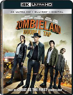Rent Zombieland: Double Tap and other new DVD releases and Blu-ray Discs from your nearest Redbox location. Or reserve your copy of Zombieland: Double Tap online and grab it later. New Movies, Movies And Tv Shows, Woody, Le Double, Avan Jogia, Zombieland, Taylor Kitsch, Karl Urban, Joe Manganiello