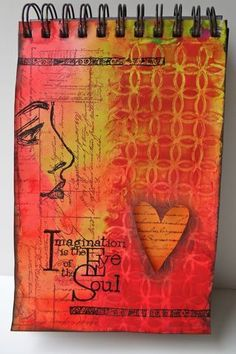 """""""Imagination is the Eye of the Soul.""""  (Love this almost tone-on-tone piece...)"""