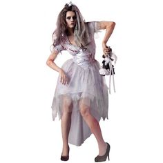 Zombie Bride Costume 14 99 Https Funnfrolic Co Uk Index Php  sc 1 st  Midway Media & Dead Bridesmaid Halloween Costume | Midway Media
