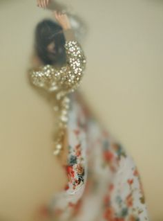 glitter floral