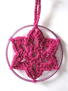 Ravelry: Christmas Crocheted Star Decoration pattern by Fiona Morris