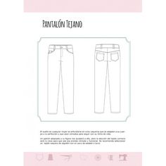 Cuaderno de Patronaje - Pantalones- Vol. 3