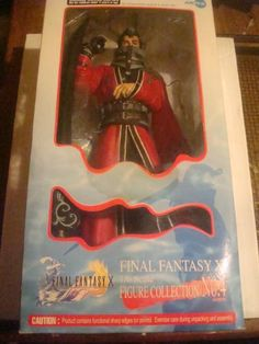 Final Fantasy X Auron 16 Scale Polystone Model Figure No4 * Click image for more details.