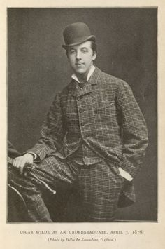 """Wilde News: Newly Discovered Items, Books From His Library and More"" by Michael Lieberman, 12/12/2014  Wilde as an undergraduate, April 3, 1876."