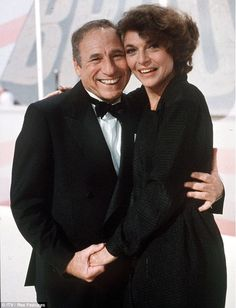 Still in love: Mel Brooks with his late wife Anne Bancroft, who passed away in Mel born in Brooklyn. Anne born in the Bronx. Anne Bancroft (September 1931 – June She died at the age of 73 of uterine cancer. Hollywood Couples, Celebrity Couples, Hollywood Stars, Classic Hollywood, Old Hollywood, Anthony Hopkins Movies, Chicas Punk Rock, Anne Bancroft, I Miss Her
