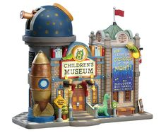 Shop American Sale for your Lemax Plymouth Corners Lighted Building: Children's Museum Lemax Christmas Village, Lemax Village, Christmas Villages, Christmas Houses, Buy Christmas Tree, Family Christmas, Villas, American Sales, Light Building