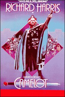 Camelot the Musical Broadway Poster (Richard Harris)