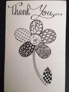 Bildergebnis für card zentangle