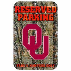 NCAA Oklahoma Sooners 11-by-17 inch Sign Real Tree WinCraft https://www.amazon.com/dp/B0091CJO0K/ref=cm_sw_r_pi_dp_x_CZ3fAb16ZADPW