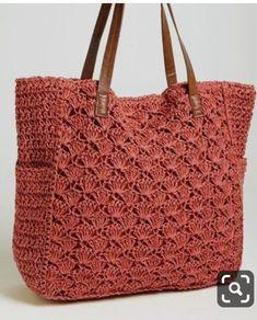 Free Crochet Bag Patterns - Beautiful Crochet Patterns and Knitting Patterns Crochet Backpack Pattern, Free Crochet Bag, Crochet Market Bag, Crotchet Bags, Knitted Bags, Knitting Patterns, Crochet Patterns, Crochet Shoulder Bags, Knit Basket