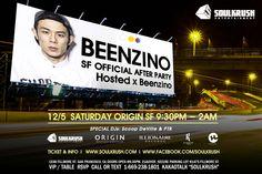 샌프란 SF - 12/5 SAT #BEENZINO #빈지노 Official After Party Hosted x Beenzino @ Origin SF 21+ WILL BE MAX CAPED OUT, get reserved! 930pm-2am . Tickets: https://events.sparxo.com/beenzinosf - VIP/Table 1-669-238-1801 Kakao: SOULKRUSH . #beenzino #sf #sanfrancisco #originsf #origin #soulkrush #nightlife #afterparty #hosted #by #hiphop #live #show #concert #빈지노 #샌프란시스코 #샌프란 #소크 #소울크러쉬 #오리진 #에프터파티 #라이브 #공연 #파티 #클럽