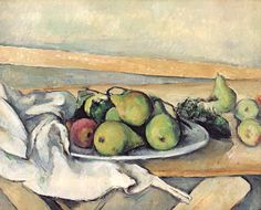 Still Life With Pears Paul Cezanne