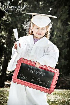 Out of the box preschool graduation portraits by my sister company www.Leap-Frog-Photography.com.
