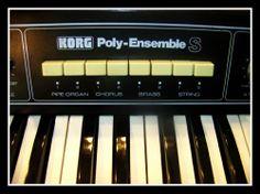 Vintage KORG Poly-Ensemble S K-5  ANALOG Synth 3 VCO's per note w/Phaser RARE NR