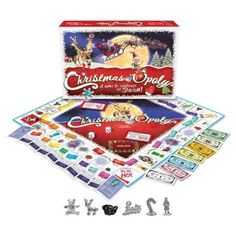 """Are you looking for a fun an exciting way to have a Christmas gift exchange? Try playing the """"Twas The Night Before Christmas Gift Exchange Game! Christmas Board Games, Christmas Gift Exchange Games, Christmas Wishes, Family Christmas, Christmas Holidays, Christmas Tree, Christmas Hanukkah, Christmas Flowers, Christmas Countdown"""
