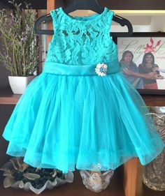 Girls Dresses Sewing, Sewing Baby Clothes, Frocks For Girls, Kids Frocks, Babies Clothes, Clothes For Women, Cute Little Girl Dresses, Baby Girl Party Dresses, Baby Dress