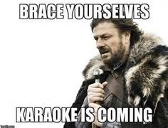 Image result for karaoke meme