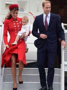 William, Catherine & George