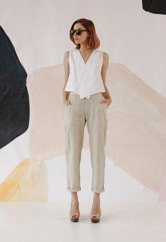 "Rachel Comey + The Dreslyn ""Spring Fling"" look book // rachel comey, illesteva, white blouse, rachel comey, sunnies inspiration, sunglasses editorial, the dreslyn"