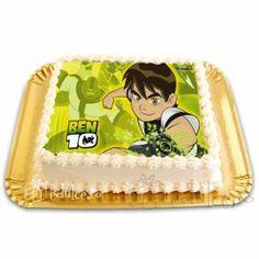 Poza cu Ben 10 este comestibila! Ben 10, Cake, Desserts, Food, Tailgate Desserts, Deserts, Food Cakes, Eten, Cakes
