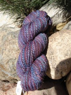 Hand spun wool yarn for knitting crochet or by BeaverCreekTraders, $18.00