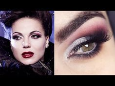 Halloween Makeup Evil Queen Once Upon a Time - YouTube