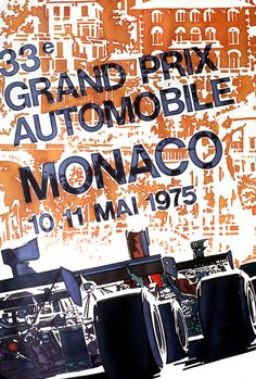 Grand Prix de Monaco Monte Carlo 1975 I was there! Very young...but lived there at the time! ❤️