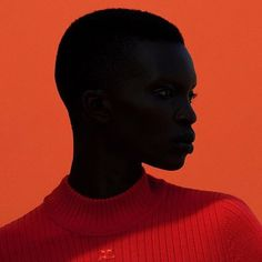 @real_achok by @julia_noni @christinecorbel  outtake for @courreges September 2016