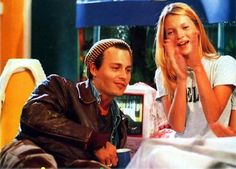 Johnny Depp and Kate Moss: 1990's on The Big Breakfast